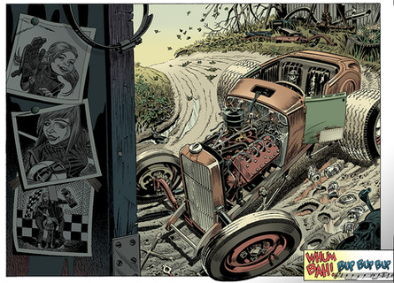 Rat Rod Daddy/Comic Book Pages