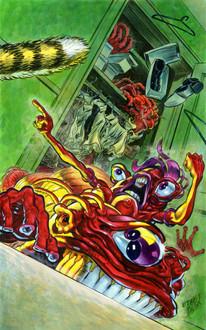 Sci Fi Magazine/Comic Book Cover Proposal