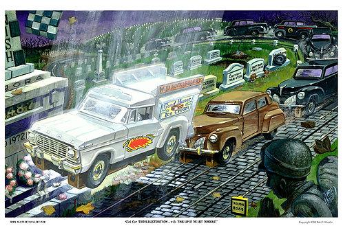 "Slot Car Thrillustration #13 ""FINAL LAP"""