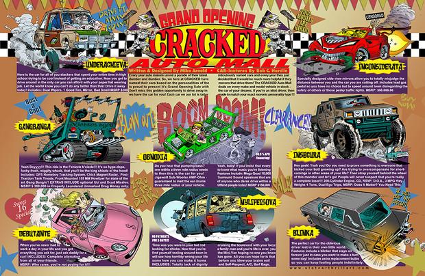 Cracked Magazine / Comic Book Story