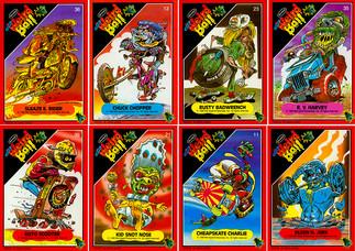 Mel Appel Weird Ball Trading Card Highlights