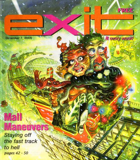 Exit Magazine Cover