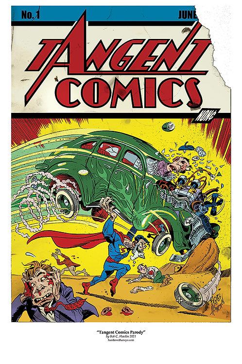 Superman Action Comics Plymouth DeSoto