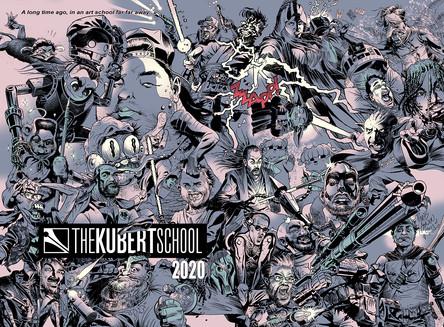 Kubert School Yearbook Cover