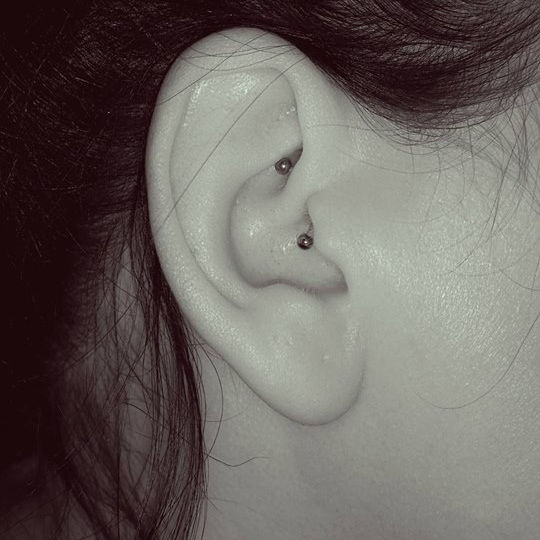 Daith Piercing (Ring or Bar)