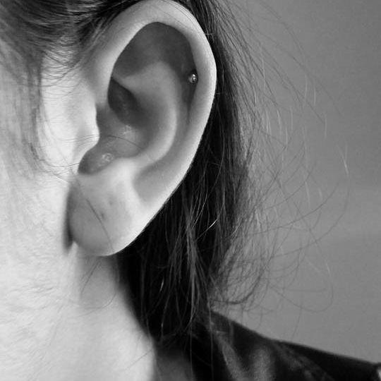 Helix / Top Ear Piercing