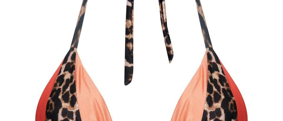 Billie Top - Leopard Splice