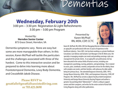 Upcoming Educational Program for Clinicians and Interested Community Members
