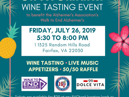Upcoming Alzheimer's Association Event of Interest