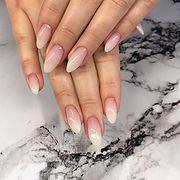 Babyboomers - simple but Nice 💞#nails #