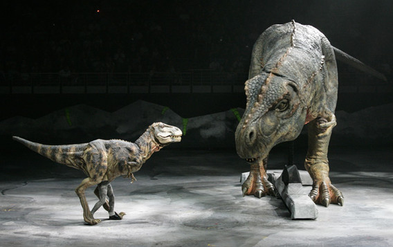 Walking With Dinosaurs T-Rex Puppet