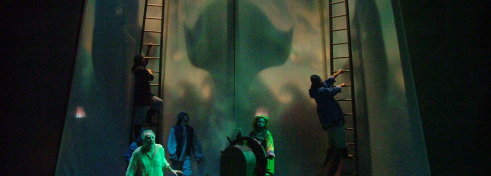 Jonah's Dream Shadow puppets