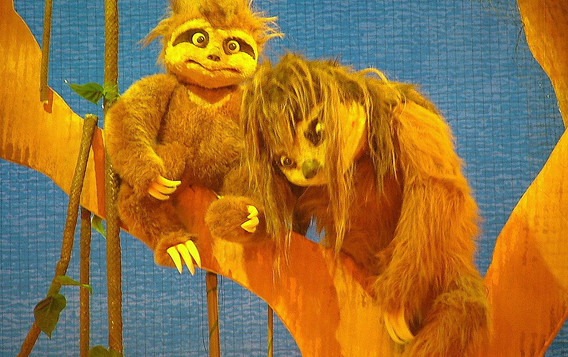 Go Diego Go Sloths Puppet