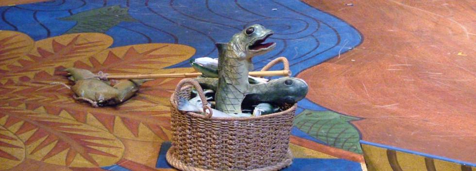 Jonah's Dream Singing Fish puppet
