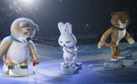 Sochi Hare Mascot