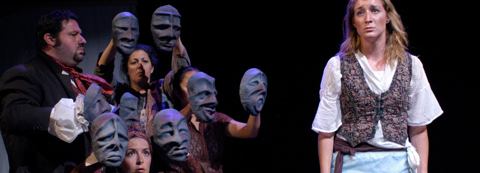 The Forgetting River Masks and Puppets