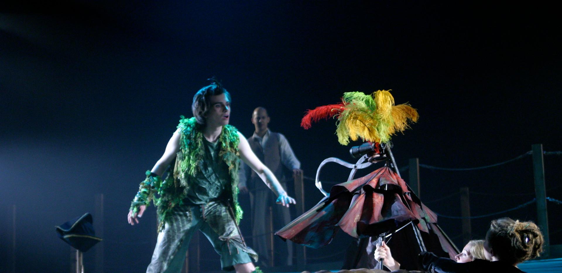 Peter Pan with Never Bird
