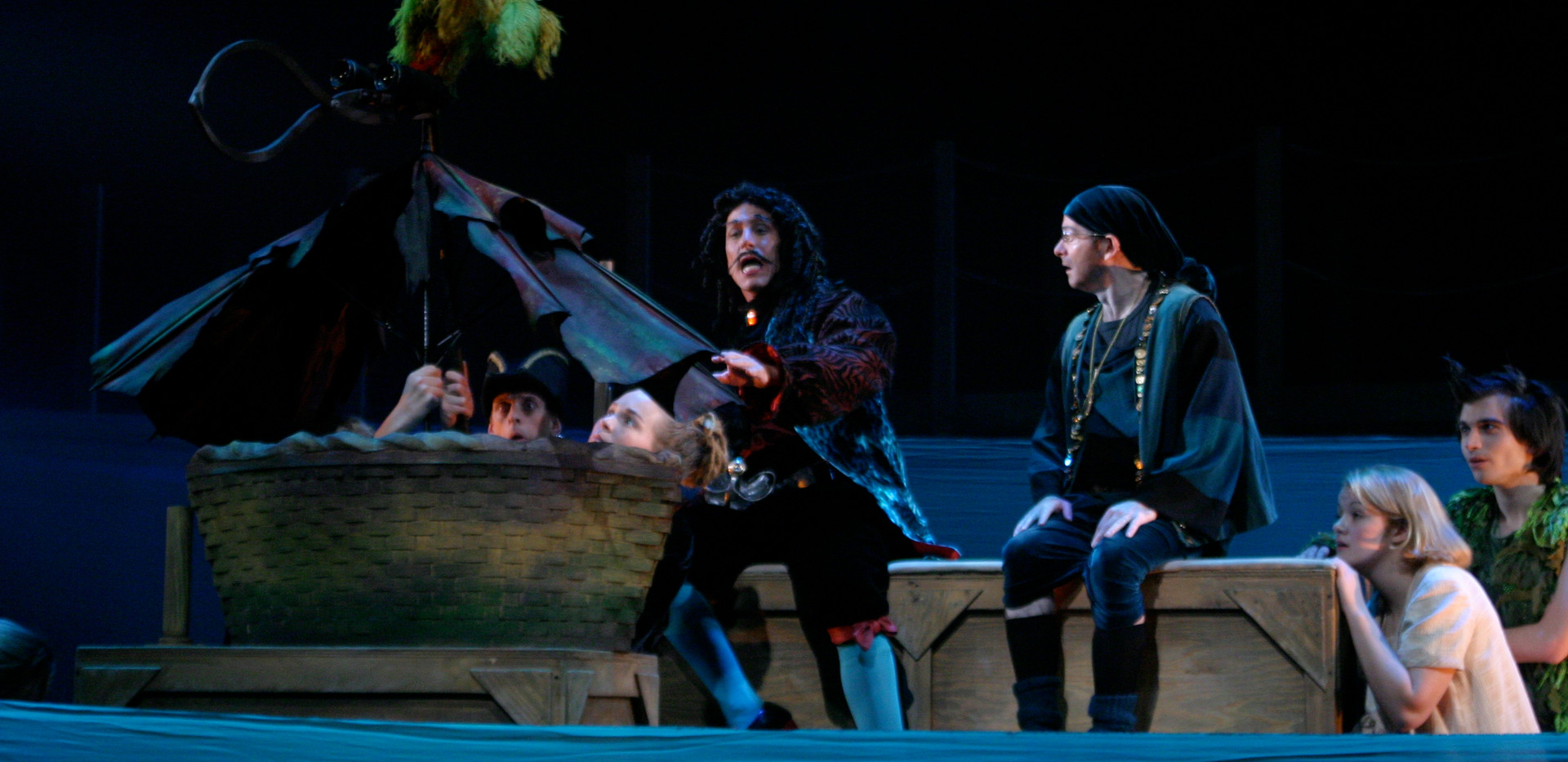Peter Pan Never Bird with Pirates