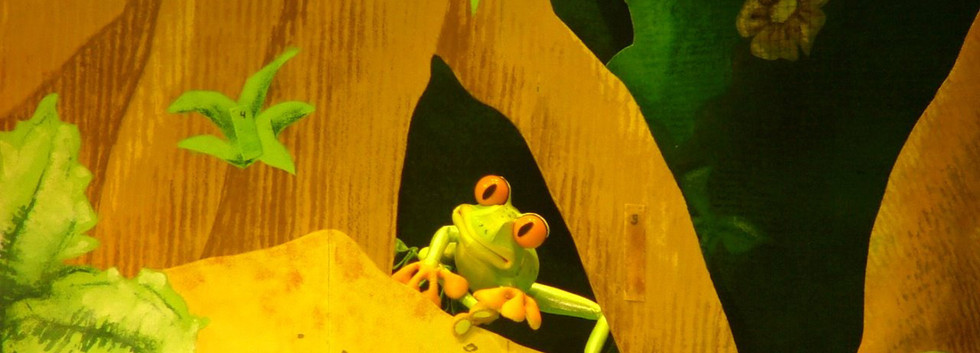Go Diego Go Frog puppet