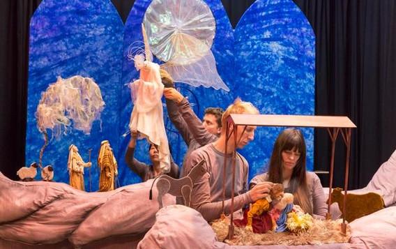 Jane Henson Nativity Puppets