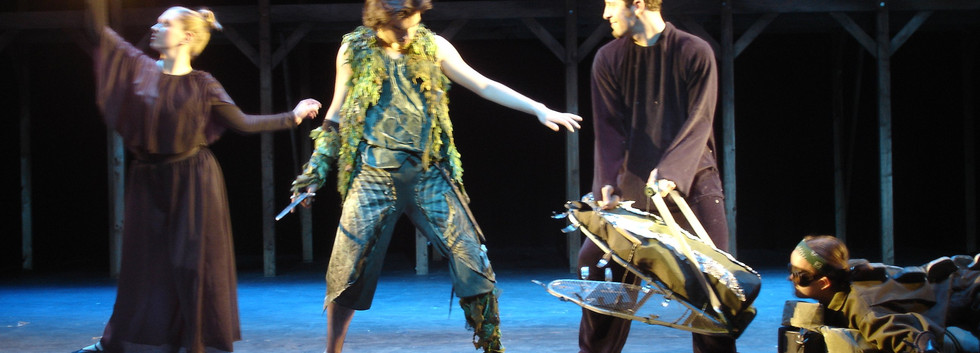 Peter Pan Crocodile and Tinkerbell