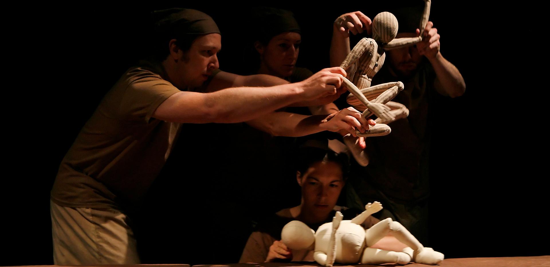 Robert's Etude Table Top Puppets
