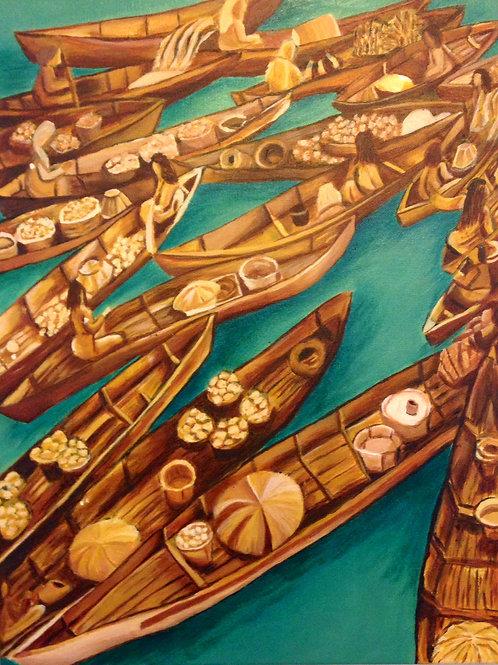 Thailand Boat Market
