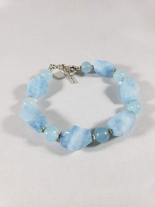 Blue Celestite Bracelet