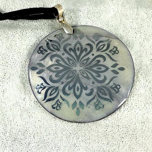 Paua Shell Pendant Necklace - Abalone