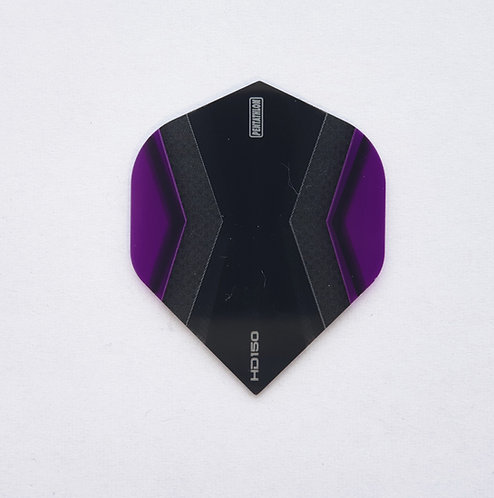 HD150 Pentathlon Flights schwarz/violett