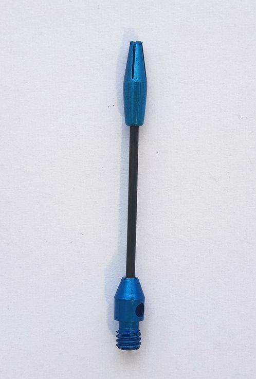 Tri Steel Schaft lang blau