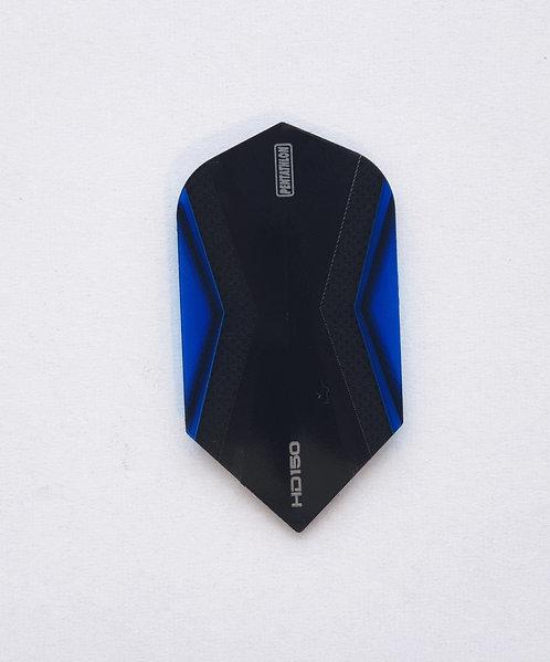 HD150 Pentathlon Flights Slim schwarz/blau