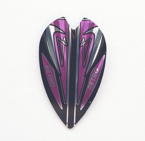 Vortex Flights retro violett
