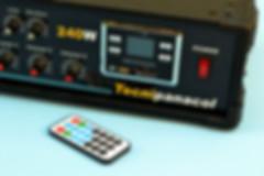 amplificador utilizado en perifoneo voceo paging en central telefonica panasonic