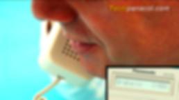 mensaje disa en planta telefónica kxtes824