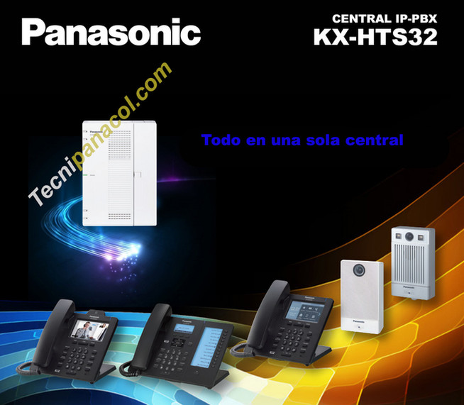 Planta telefonica panasonic KX-HTS32