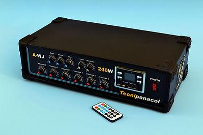 amplificador para perifoneo en central telefonica