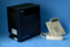 Conmutador Panasonic kxtda100 con teléfono secretarial