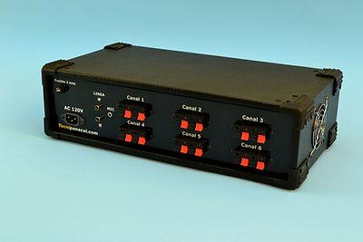 amplificador de perifonero veceo o megafonia