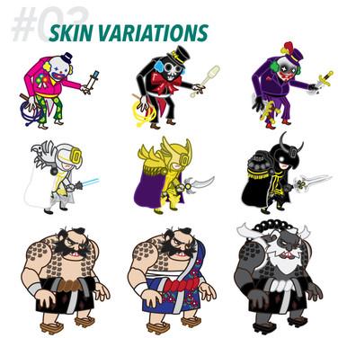 #03 SKIN VARIATIONS