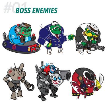 #01 BOSS ENEMIES