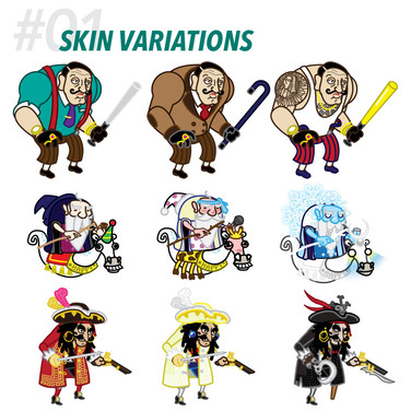 #01 SKIN VARIATIONS