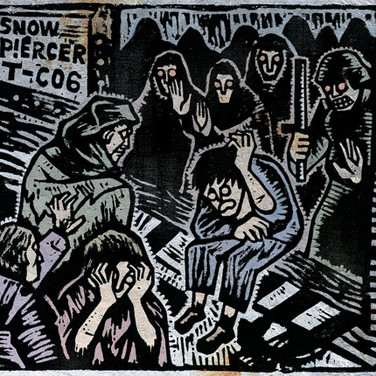 SNOW PIERCER : WOODCUT FOR ARTBOOK