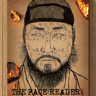 MOVIE POSTER : THE FACE READER