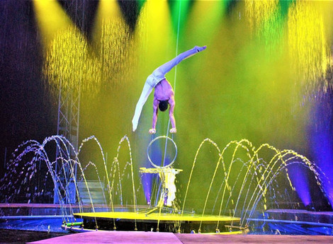 Cirque Italia Water Circus plans Easter weekend performances in Greenville