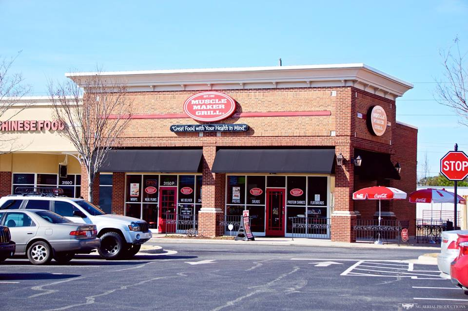 Muscle Maker Grill in Greenvile's Lynncroft Shopping Center