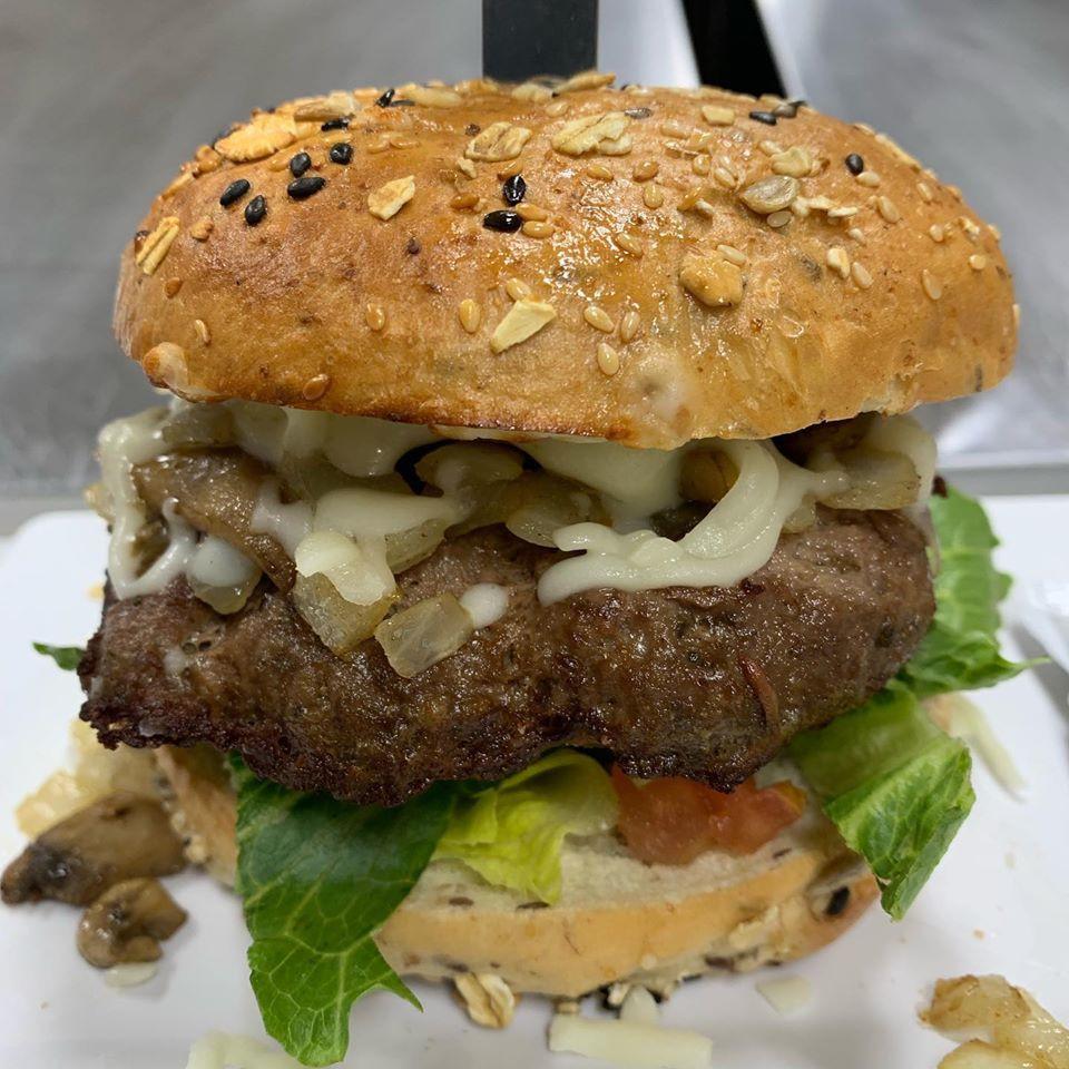 MMG Mushroom Supreme Burger