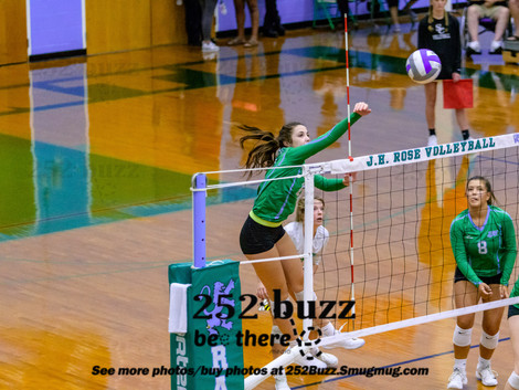JH Rose volleyball gets road wins at North Pitt