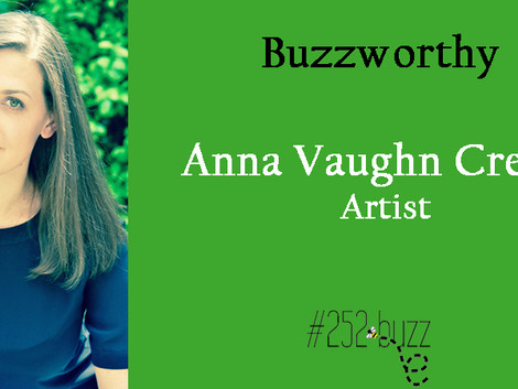 252Buzzworthy - Anna Vaughn Creech Artist/owner of Aviation Studio