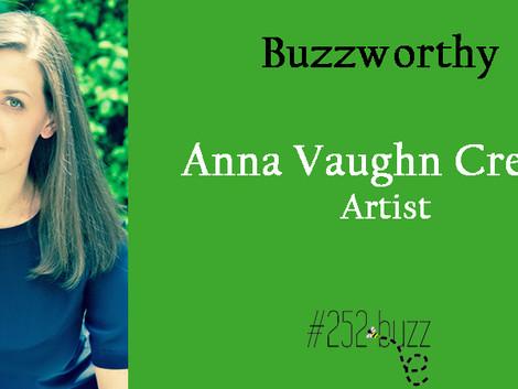 252Buzzworthy - Anna Vaughn Creech Artist/owner of Aviation Studio